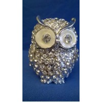 JULIANA TREASURED TRINKETS CRYSTAL OWL TRINKET BOX